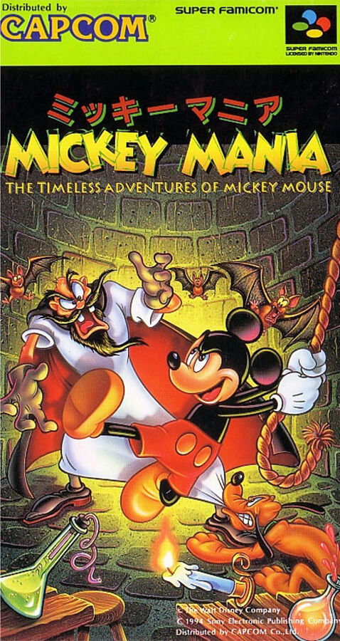 Mickey Mania - The Timeless Adventures of Mickey Mouse (1995)
