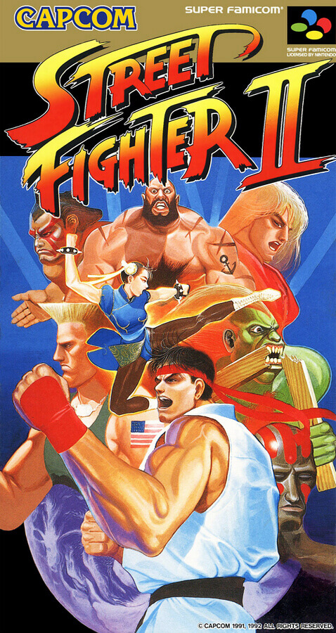 Street Fighter II - The World Warrior (1992)