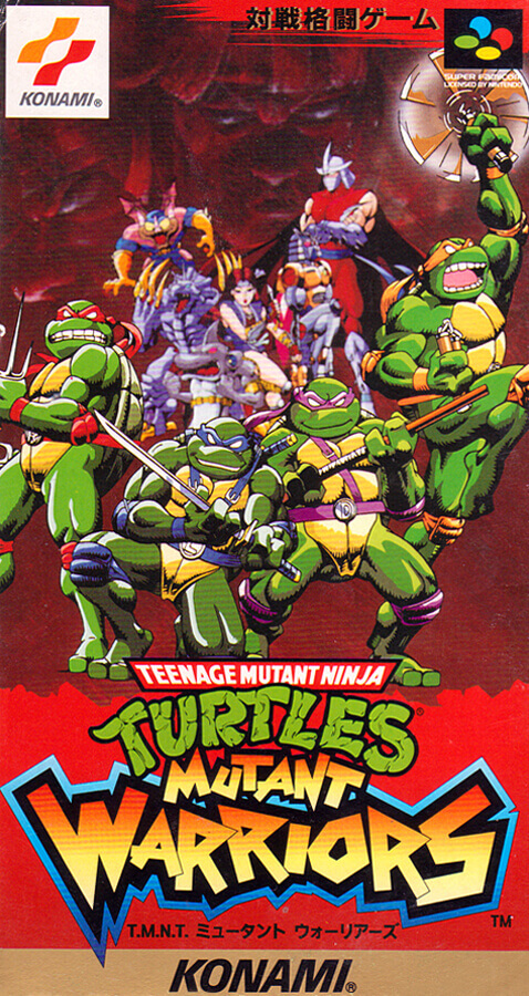 Teenage Mutant Ninja Turtles: Mutant Warriors